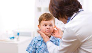 Киста щитовидной железы у ребенка