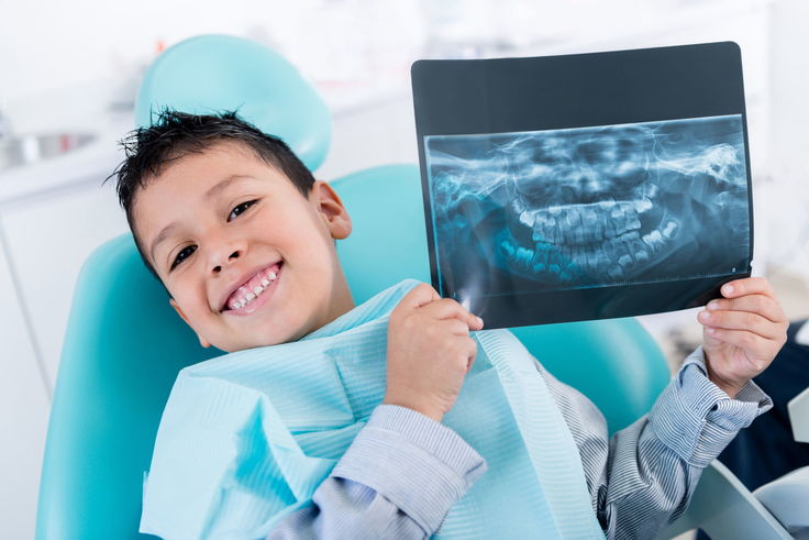 Рентген зубов у ребенка