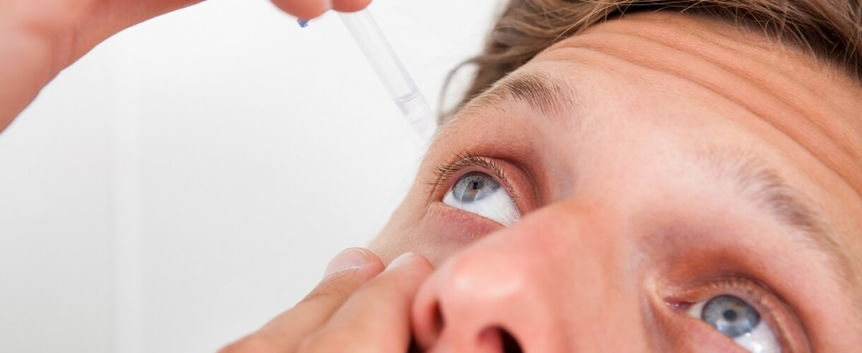 закапывание в глаз